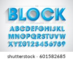vector of stylized bold font... | Shutterstock .eps vector #601582685