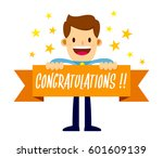 vector stock of a businessman... | Shutterstock .eps vector #601609139