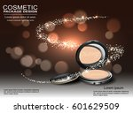 luxury ad template 3d... | Shutterstock .eps vector #601629509