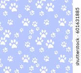 vector seamless pattern with... | Shutterstock .eps vector #601631885