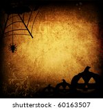 halloween pumpkins with pumpkin ... | Shutterstock . vector #60163507