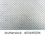 steel checkerplate metal sheet  ... | Shutterstock . vector #601640204