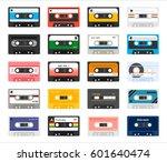 Vintage Cassette Tape Vector...
