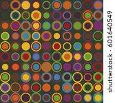 geometric seamless pattern | Shutterstock .eps vector #601640549