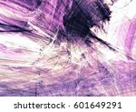 abstract purple color painting... | Shutterstock . vector #601649291