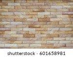 brick wall background. interior ... | Shutterstock . vector #601658981