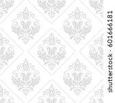 classic seamless vector light... | Shutterstock .eps vector #601666181