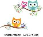 Owl Cute In Vector
