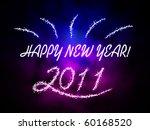 happy new year 2011 | Shutterstock . vector #60168520