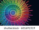 Colored Pencils Arrange In...