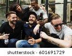 craft beer booze brew alcohol... | Shutterstock . vector #601691729