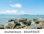travel in nature at a beach and ...   Shutterstock . vector #601693025