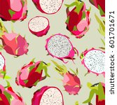 illustration of a pattern with... | Shutterstock .eps vector #601701671