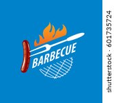 barbecue party logo   Shutterstock .eps vector #601735724