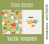 cover design for print with... | Shutterstock .eps vector #601753229