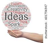 concept conceptual creative new ... | Shutterstock . vector #601756547