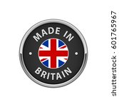 """round """"made in britain"""" badge... 