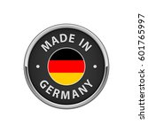 """round """"made in germany"""" badge... 