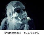 Head Of Human Alien  Evolution...