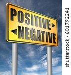 positive or negative optimism... | Shutterstock . vector #601792241