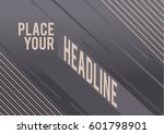 typography poster design with... | Shutterstock .eps vector #601798901