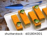 Three Colors Vegetable Terrine...