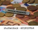 financial framework   the word... | Shutterstock . vector #601810964