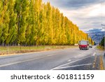 autumn in new zealand | Shutterstock . vector #601811159