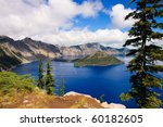 Crater Lake  Oregon  A Caldera...