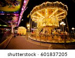 Children's Carousel At An...