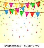 illustration of party...   Shutterstock .eps vector #601849799