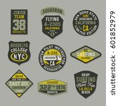 Labels And Badges Military And...