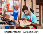 guitar maker and luthier's... | Shutterstock . vector #601856804