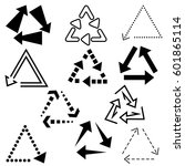 big set of arrows for design... | Shutterstock .eps vector #601865114
