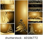 merry christmas and happy new... | Shutterstock .eps vector #60186772
