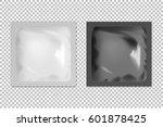 realistic vector blank white... | Shutterstock .eps vector #601878425