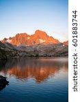Alpine Glow On Banner Peak And...