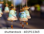 souvenir decorative bells with... | Shutterstock . vector #601911365