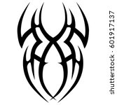 tattoo tribal vector designs...   Shutterstock .eps vector #601917137
