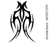 tattoo tribal vector designs... | Shutterstock .eps vector #601917191