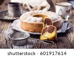 Marble Cake Cup Of Coffee...