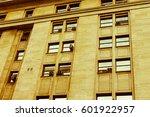 vintage building detail | Shutterstock . vector #601922957