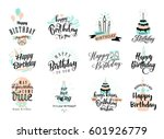 vector illustration of happy... | Shutterstock .eps vector #601926779