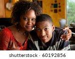 attractive african american... | Shutterstock . vector #60192856