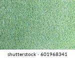 top view of artificial green... | Shutterstock . vector #601968341