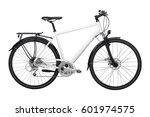 Sports Bike Isolated On White...