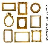 Set Of Gilded Antique Frames...