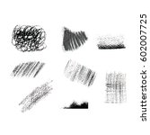 a set of hand drawn geometric...   Shutterstock . vector #602007725