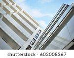 modern  luxury apartment... | Shutterstock . vector #602008367