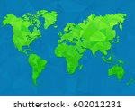 maps of the earth. world map... | Shutterstock .eps vector #602012231